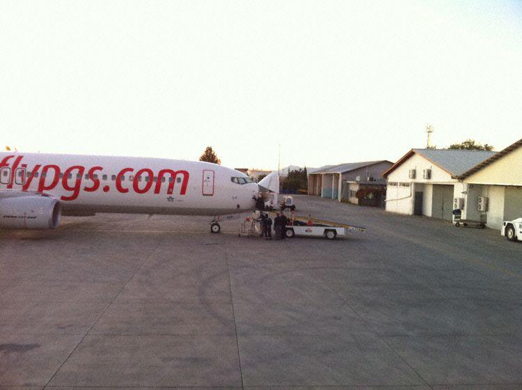 Pegasus 737-800 struck between Cypress and Turkey