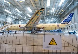 A350 XWB lightning test 01