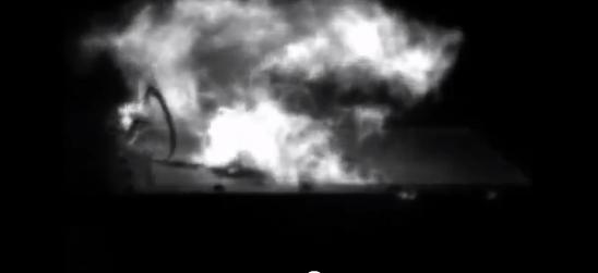 Lightning Test to Carbon Fiber Panel