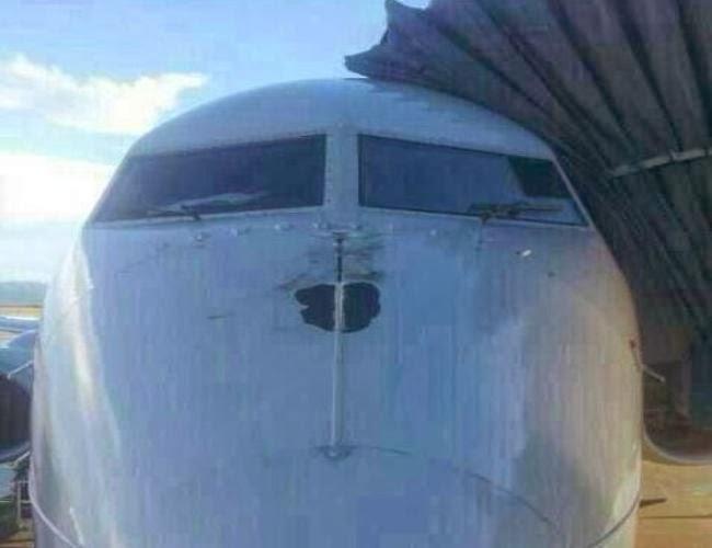 Alcanzado Boeing 737-700 Radome Strike