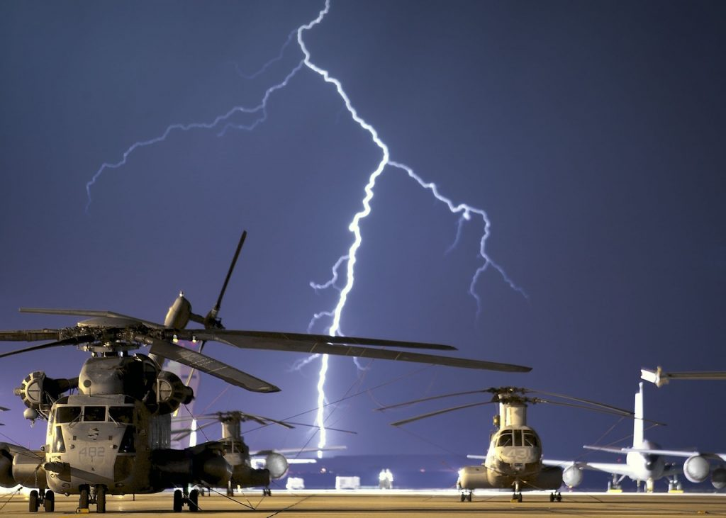 lightning diverters for aircraft