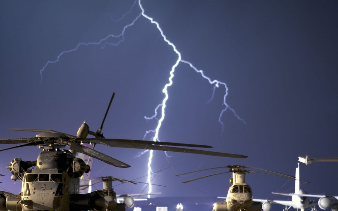What Does an Aircraft Lightning Diverter Actually Do?